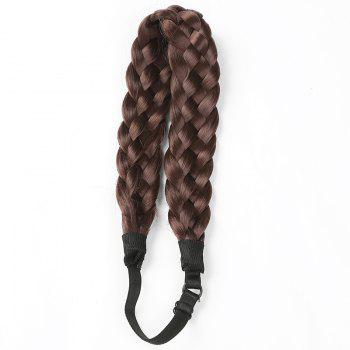 Charming Long High Temperature Fiber Braided Hair Extensions For Women - #06