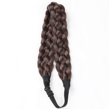 Charming Long High Temperature Fiber Braided Hair Extensions For Women - #08