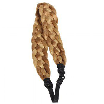 Fashion Heat Resistant Fiber Braided Hair Extensions For Women
