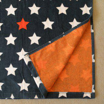 Quality Stars Pattern Cotton Cloak Kid's Hooded Towel -  DEEP BLUE