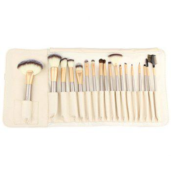 18 Pcs Makeup Brushes Set with Brush Bag