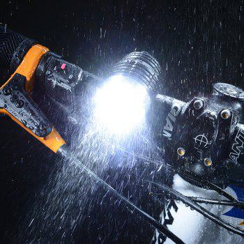 ROCKBROS T6 Cree 1200LM Bicycle Head Lamp + Battery + Charger