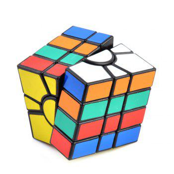 Irregular 4-layer Tuning Spring Magic Cube ( Skill Level 4 ) Brain Teaser Educational Toy Black Base -  BLACK BASE
