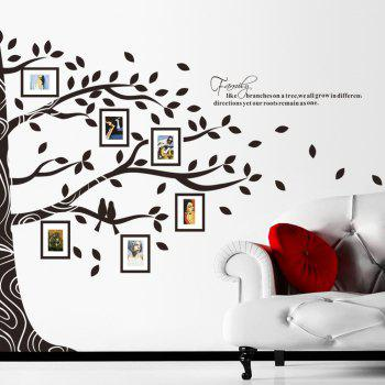 Photo Tree Style Removable PVC Wall Stickers Water Resistant Home Art Decals