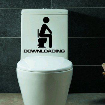 Best Position Style Closestool Sticker DIY Removable Toilet Lid Decals Home Decoration