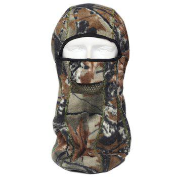 ENKAY Bionic Camouflage Pattern Mask Windproof Warm Fleece Made - DESERT CAMOUFLAGE DESERT CAMOUFLAGE