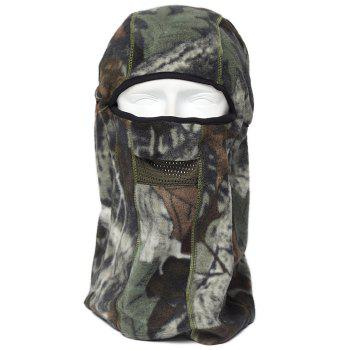ENKAY Bionic Camouflage Pattern Mask Windproof Warm Fleece Made