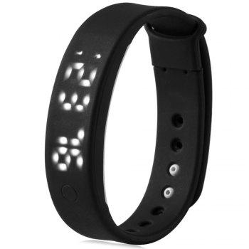 A6 Smart Wristband Pedometer Watch Sleep Monitor Alarm Time