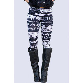Trendy All-Match Printed Women's Skinny Leggings