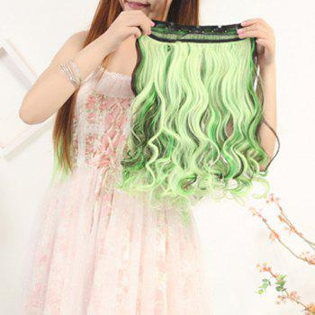 Fluffy Curly Fashion Mixed Color Synthetic Attractive Long Clip In Hair Extension For Women - COLORMIX