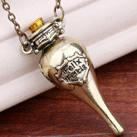 Stylish Harry Potter Felix Felicis Pendant Necklace For Women