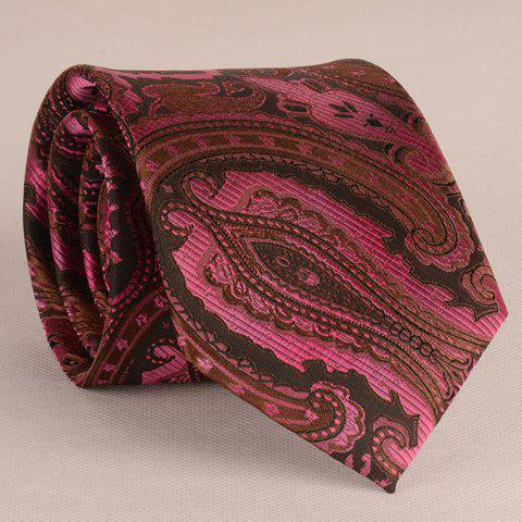 Stylish Retro Bandanna Jacquard 8CM Width Wedding Tie For Men