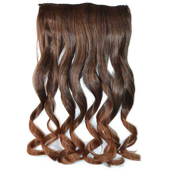 Fluffy Curly Capless Fashion Clip In Synthetic Stunning Long Ombre Women's Hair Extension