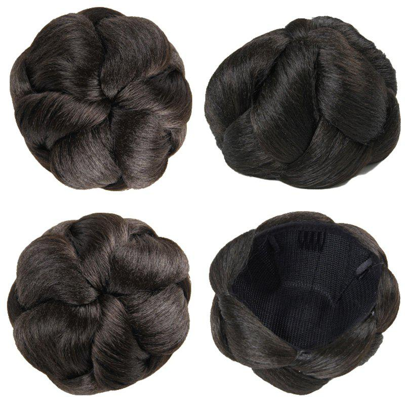 Charming Clip In Heat Resistant Synthetic Elegant Short Women's Chignons -