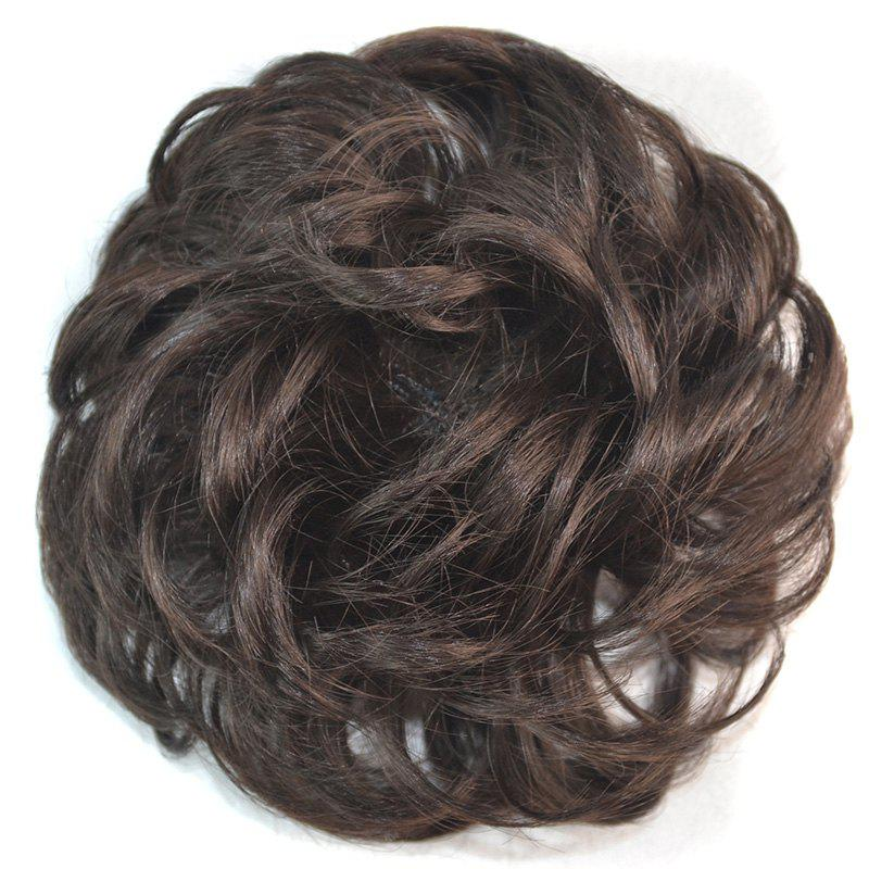 Attractive Fluffy Curly Vogue Heat Resistant Fiber Women's Chignons