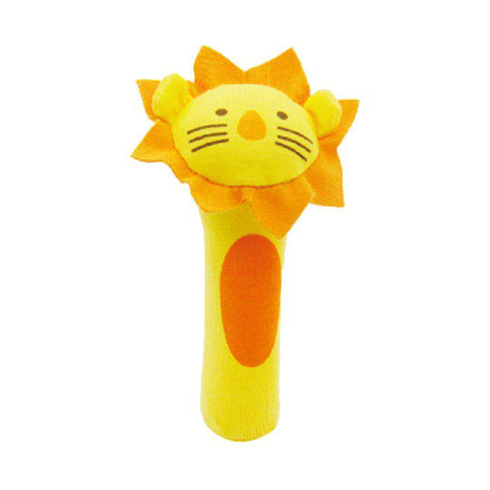 BT2048 Lion Model Handbell Newborn Toy Plush Squeeze Rattle Cute Gift Baby Toy newborn baby cute plush bed stroller cartoon elephant lion hanging toy infant rattle grasp educational toy toddler crib product