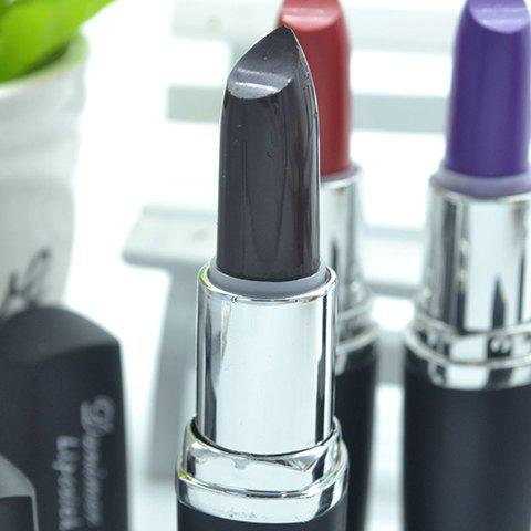 Long Wear Cool Color LipstickAccessories<br><br><br>Color: CHOCOLATE
