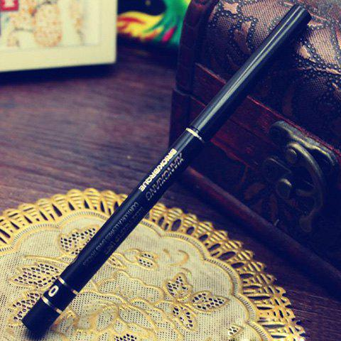 Professional Black Waterproof Automatic Telescopic Rotary Eyeliner Pencil - BLACK