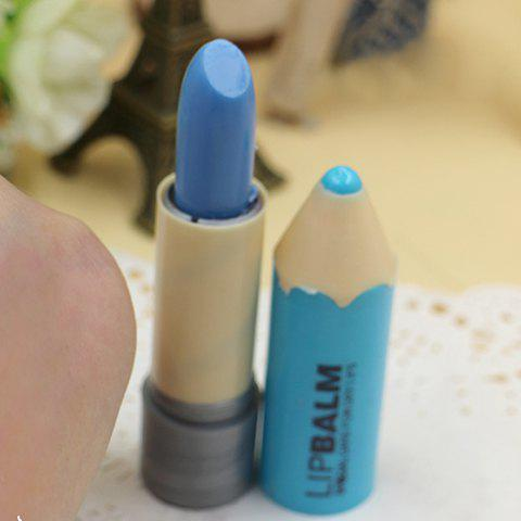 Professional Magic Fruity Crayon Lipstick with Change Color Into Light Rose