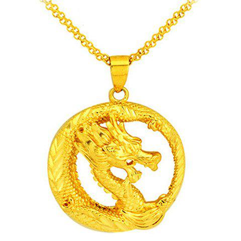 Noble Hollow Out Circular Shape Pendant For Women