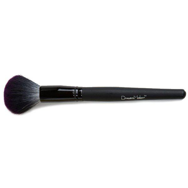 Large Nylon Powder Brush Blush Brush - BLACK