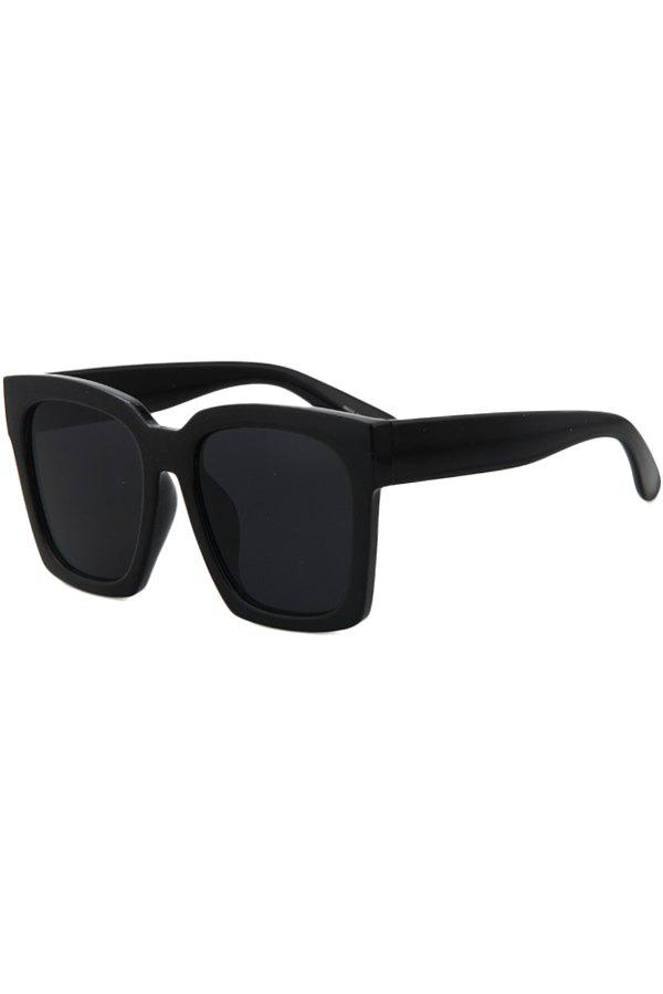 Chic Black Quadrate Sunglasses For Women - BLACK