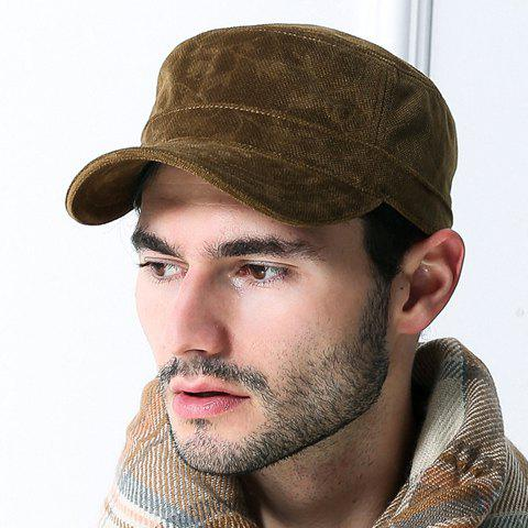 stylish outdoor winter baseball cap for men coffee 2016 classic style caps hat with flaps