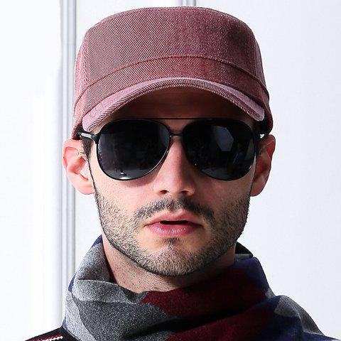 Stylish Simple Twill Military Hat For Men