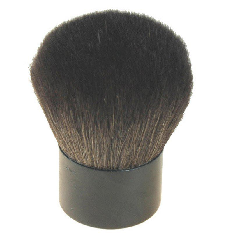 Professional Multifunction Wool Kabuki Brush - BLACK