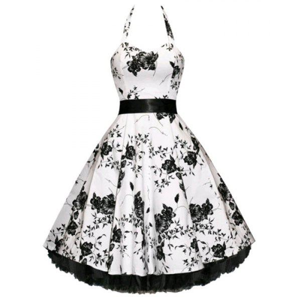 Vintage Wedding Dresses Perth: Noble Halter High Waist Floral Printed Pleated Ball Gown