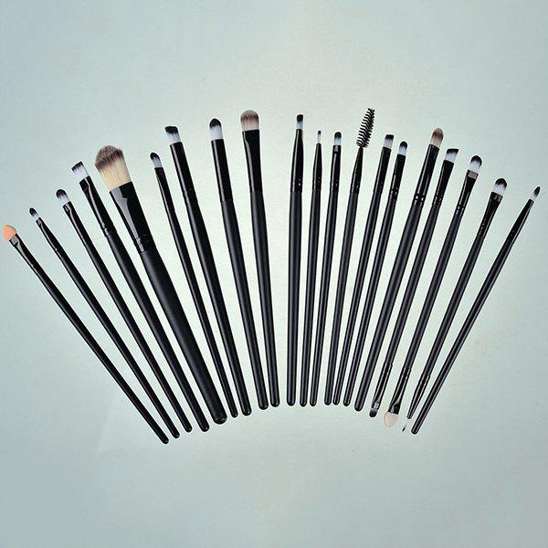 Professional 20 Pcs Nylon Eye Makeup Brushes Set
