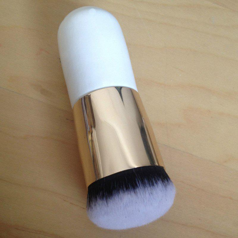 Nylon Chunky Round Foundation Brush - GOLDEN
