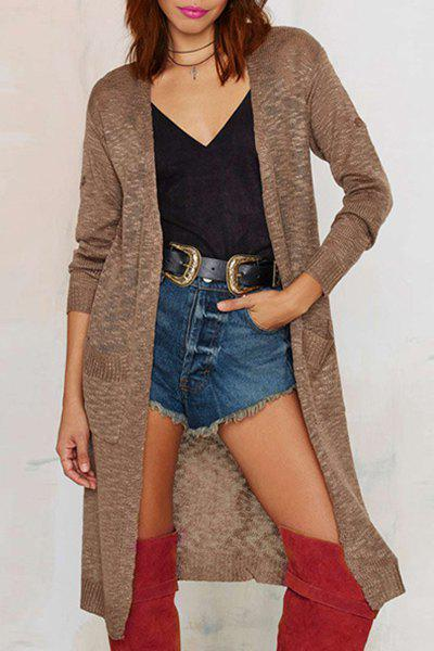 Long Sleeve High Neck Top and Grey Skirt inexpensive