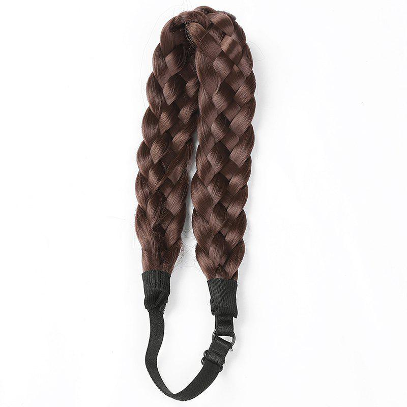 Charming Long High Temperature Fiber Braided Hair Extensions For Women -