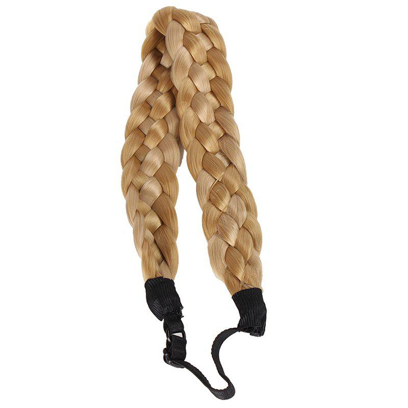 Trendy Heat Resistant Fiber Braided Hair Extensions For Women - COLORMIX