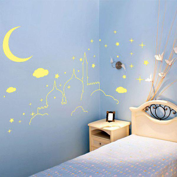 Romantic Removable Castle Pattern DIY Wall Sticker For Children's Room