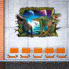 Cute 3D Dinosaur Removable Wall Sticker For Living Room - COLORMIX