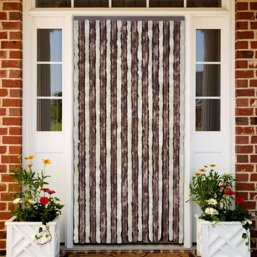 Insect Curtain 90 x 220 cm Brown-Beige   240571 - BROWN