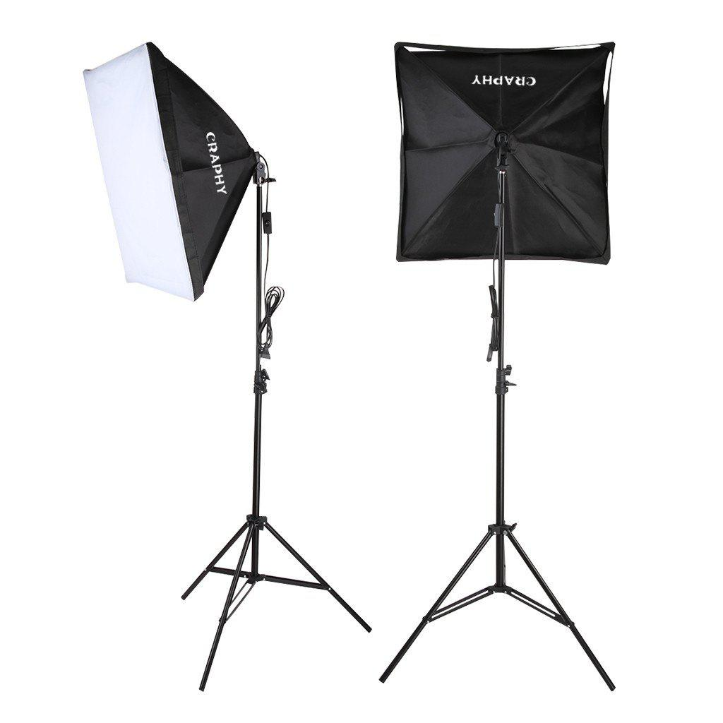 Craphy FXL-85 700W Photography Continuous Softbox Light Lighting Kit Photo Equipment Soft Studio Light  sc 1 st  DressLily.com & 2018 Craphy FXL-85 700W Photography Continuous Softbox Light ...