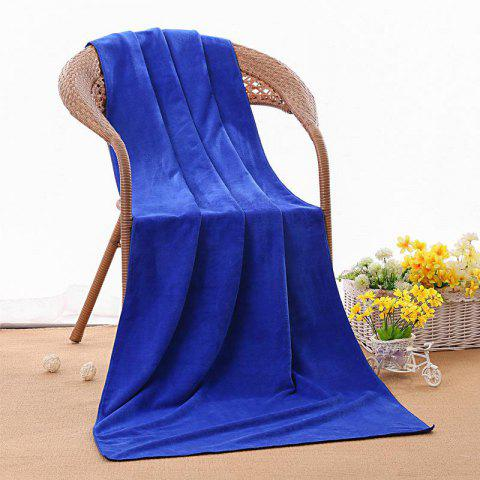 Bath Towel Beauty Salon Bed Barber Pedicure Adult Microfiber Towel - BLUE
