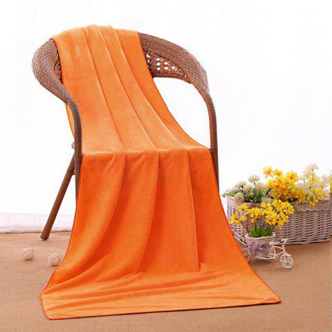 Serviette de bain Serviette de beauté Bed Bed Barber Pedicure pour adulte - Orange