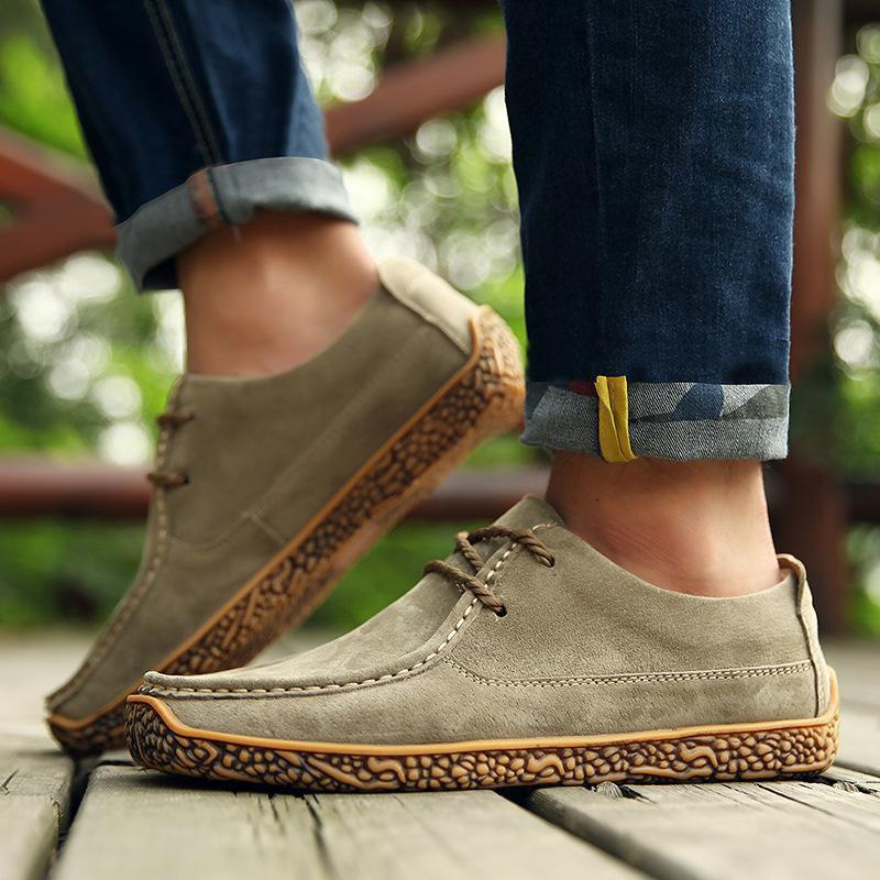 Chaussures Casual Mode - Kaki 10