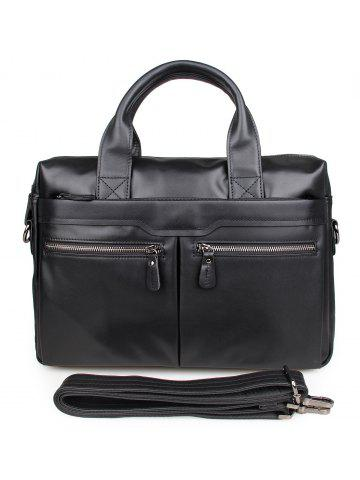 65fcfe770f6d 2019 Black Leather Briefcase Online Store. Best Black Leather ...
