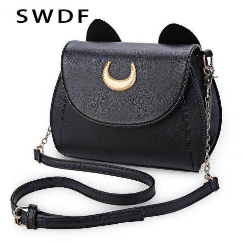 Trendy Sailor Moon Handbag - BLACK 22*9*25CM