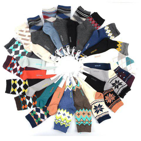 Men's Cotton Socks 4 Yuan South Korea Imported Cotton Fashion Casual Sports Men's Socks - 11 ONE SIZE