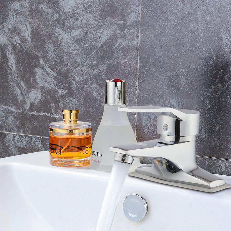 IELTS Basin Faucet Two Hot And Cold Double Hole Copper Faucet Wash Basin Bathroom Plumbing Hardware Batch - BASIN FAUCET