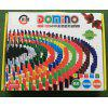 360 600 Pieces 100 Pieces Of Wooden Dominoes Children's Competition 12 Colors Rainbow Organs Domino Product - 1000 PIECES