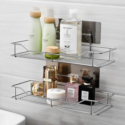 Guanbao Chaoniu Stainless Steel Seamless Washbasin Hook Multi-function Hook Hook Rack Soap Box Universal Storage King - TRIPOD B9