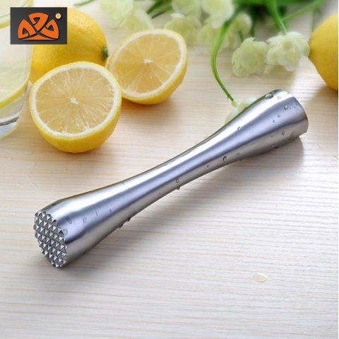 M02 Stainless Steel Lemon Bartender Cocktail Crusher Bar Tool Broken Ice Hammer Set - GS M01