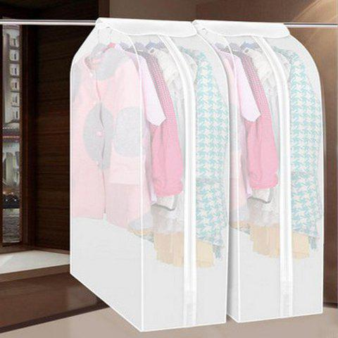 Hang Yao Three-dimensional Clothes Dust Cover Transparent Dust Bag Coat Storage Hanging Clothes Bag Clothing Cover Sweater Dust Cover - TRANSPARENT SMALL